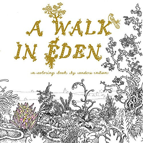 A Walk in Eden A Colouring Book by Anders Nilsen