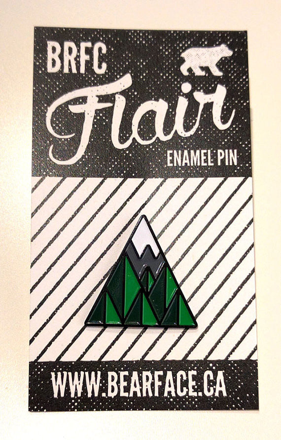 Bearface by BRFC Enamel Pin - 67 Trees
