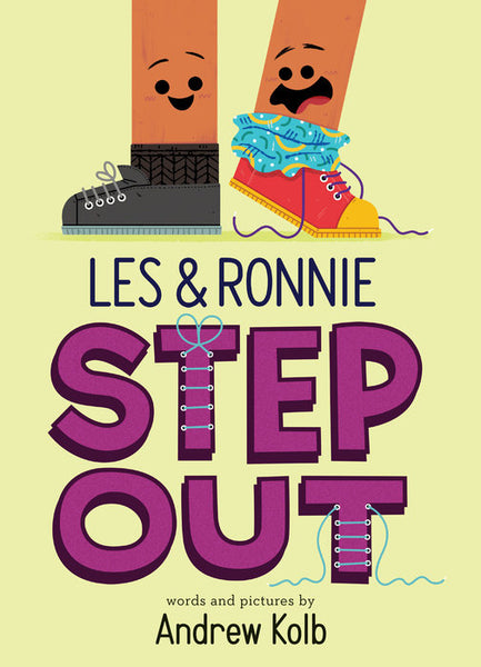 Les and Ronnie Step Out by Andrew Kolb