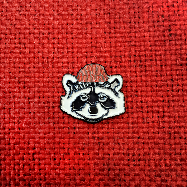 BRFC Raccoon Enamel Pin