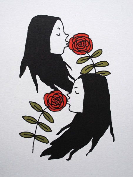 "Laura Watson, ""Two Sisters"" Print"