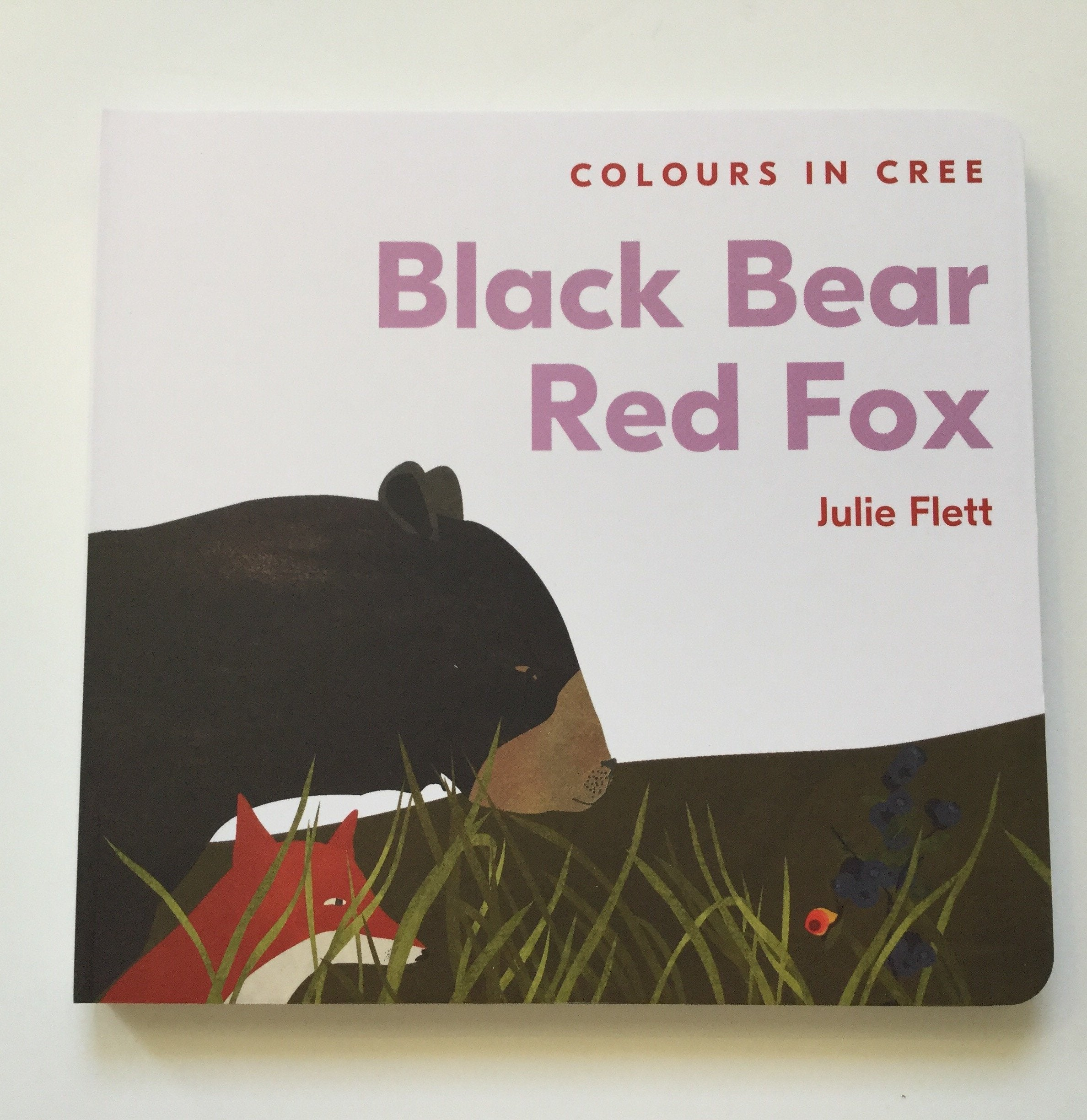 Black Bear, Red Fox: Colours in Cree by Julie Flett