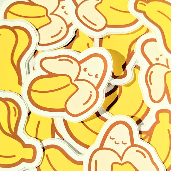 Chubby Banana sticker pack by Anneliese Alonso