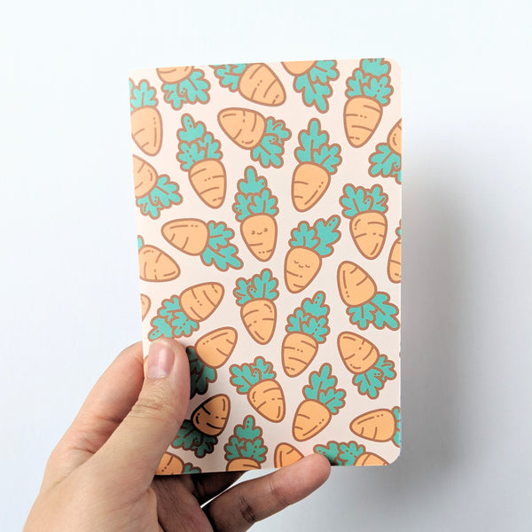 Carrot notebook by Anneliese Alonso