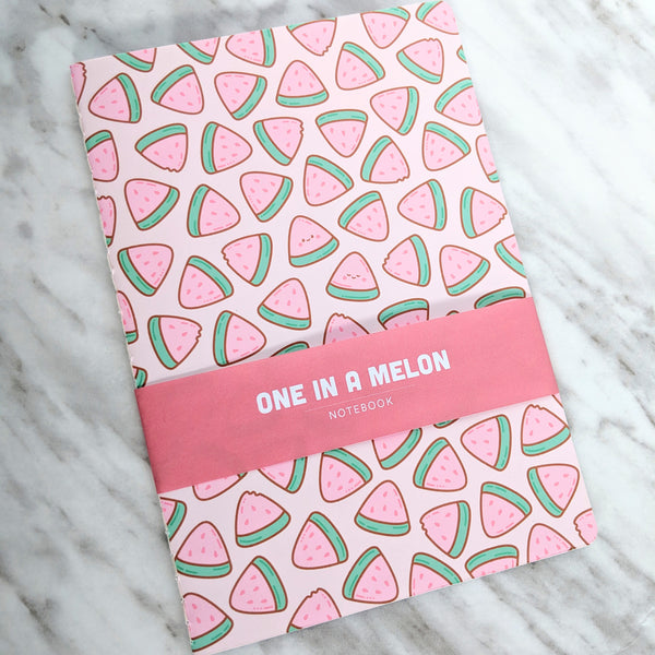 Once in a Melon notebook by Anneliese Alonso
