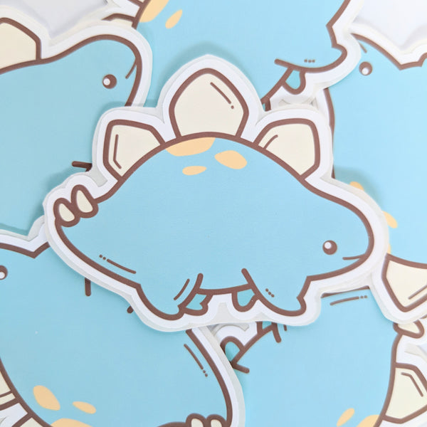 Lil' Steggo stickers by Anneliese Alonso