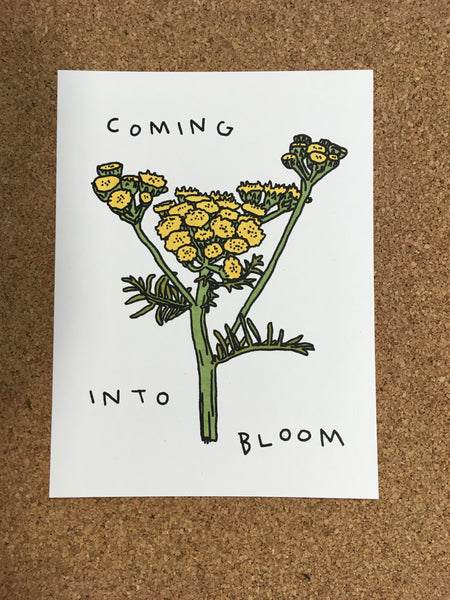 "Laura Watson, ""Coming Into Bloom "" Print"