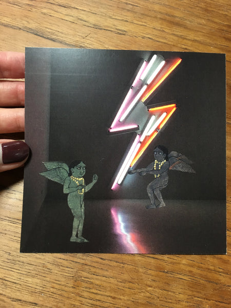Fleeing the Folio - Ziggy Stardust card by Melika Hashemi