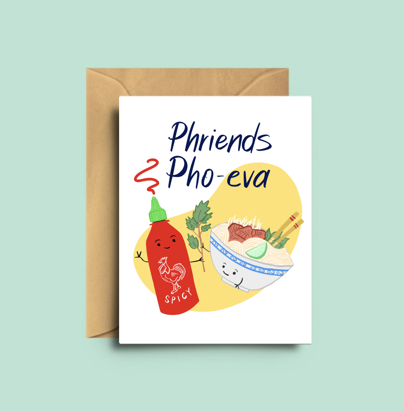 Kokocards - Phriends Pho-eva