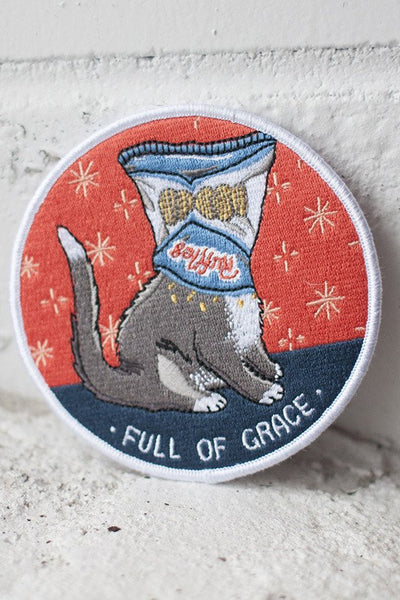 Stay Home Club Full of Grace Iron-On Patch