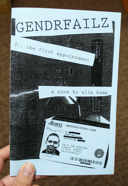 Genderfailz Issue 1: The First Appointment by Alix Kemp