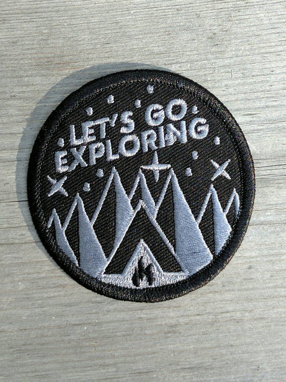 Bearface by BRFC Patch - Let's Go Exploring