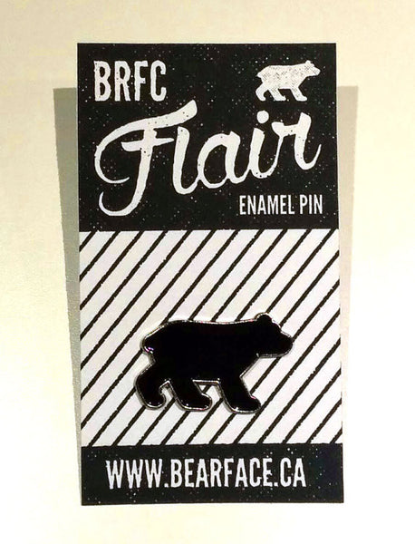 Bearface by BRFC Enamel Pin—Bear