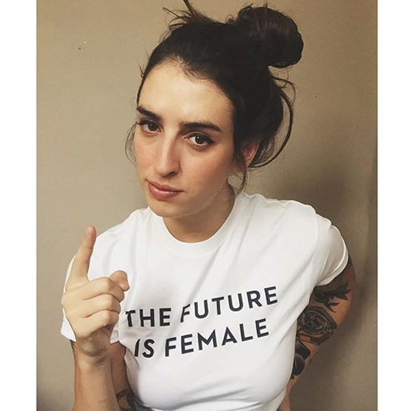 Otherwild The Future is Female Adult T-shirts