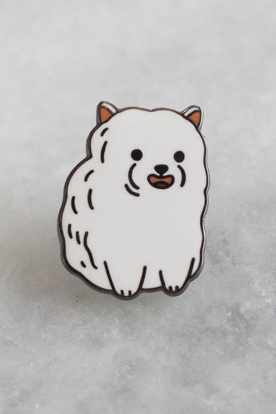 Stay Home Club Pom Pom Enamel Pin