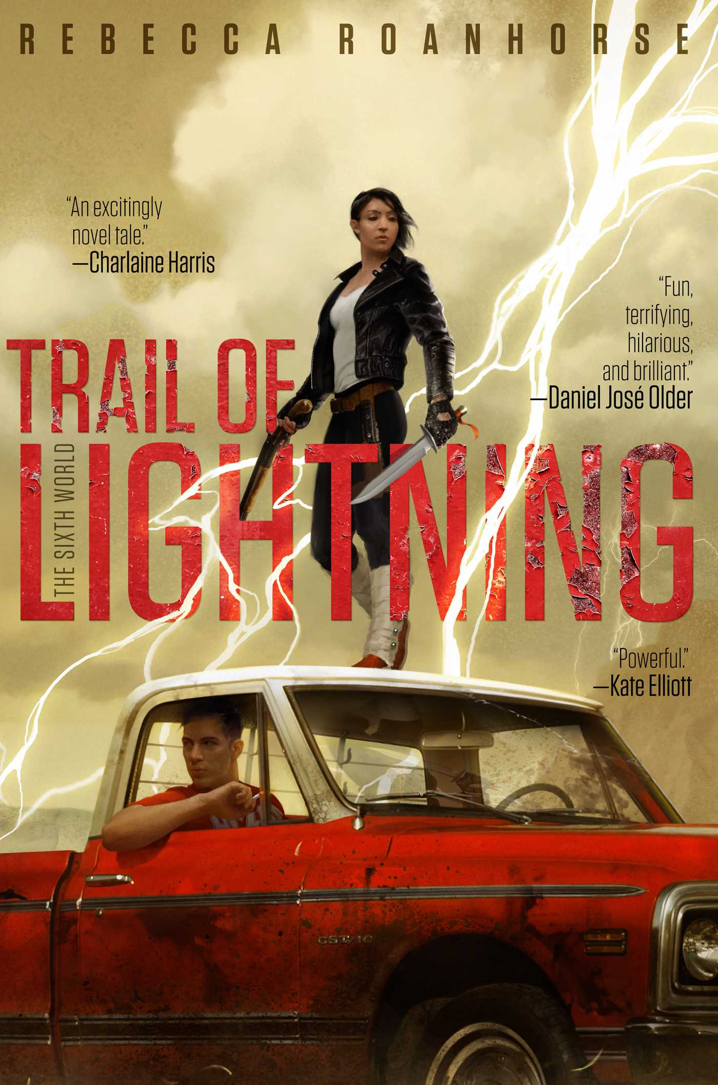 Trail of Lightning - Sixth World Book One by Rebecca Roanhorse