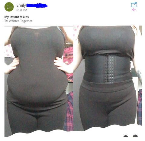1ff79fb273a35 do waist trainers really work  Yes! See these results! Before and After  Waist