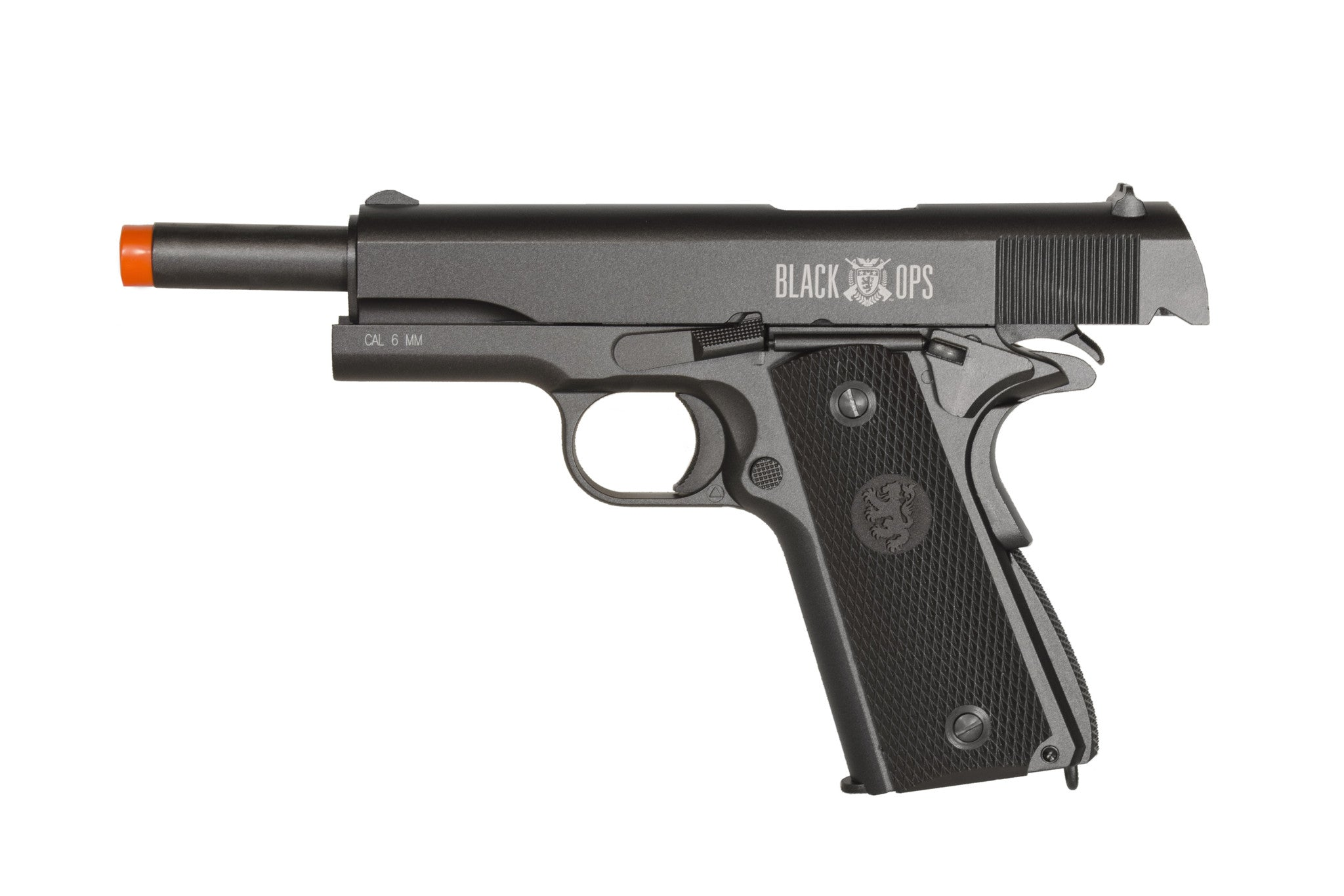 Refurbished Black Ops 1911 Gas Blowback Airsoft Pistol - Full Metal Semi  Automatic with Hop Up GBB Pistol