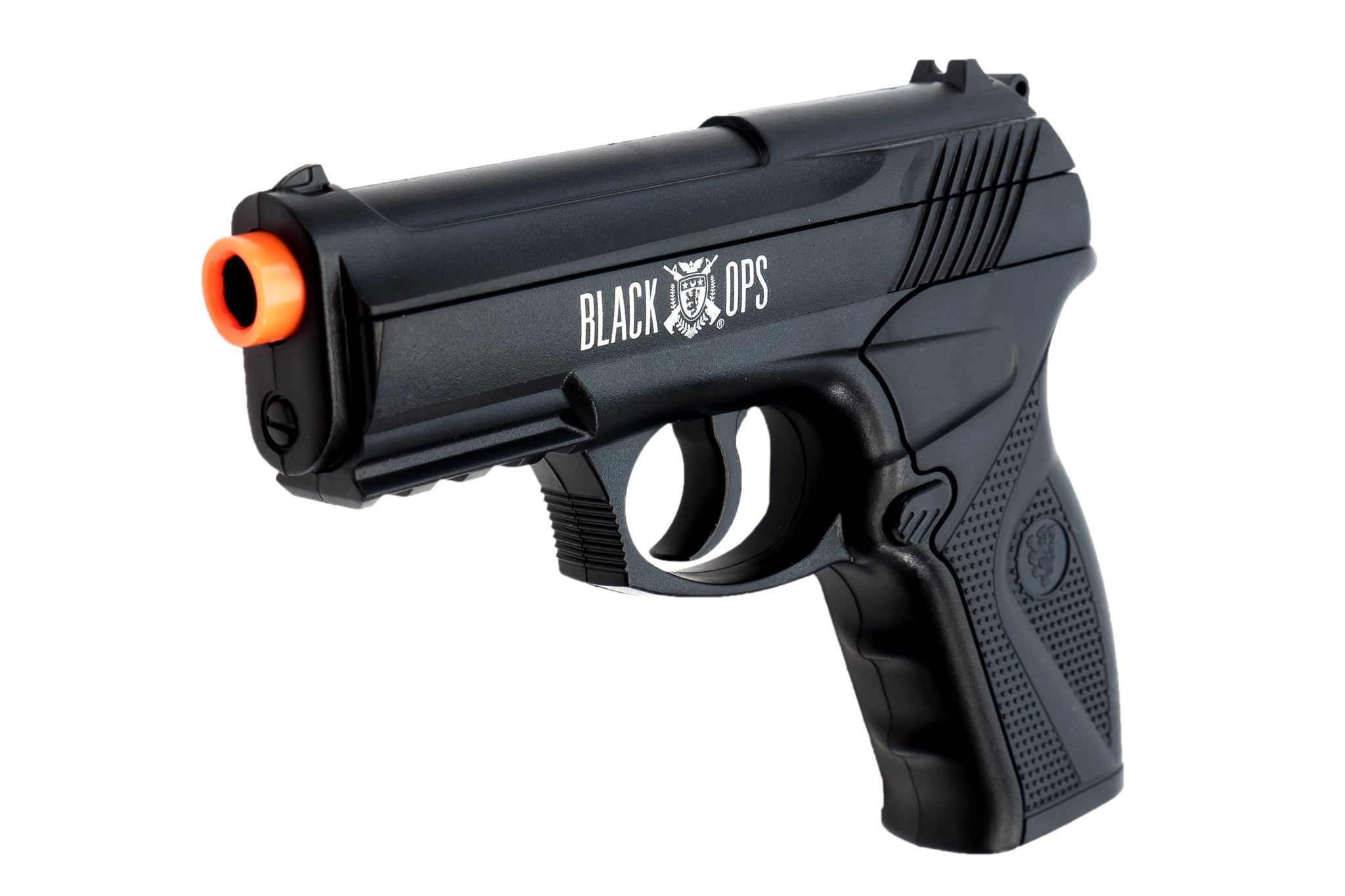 Black Ops BOA Semi Automatic Airsoft Pistol - C02 Powered