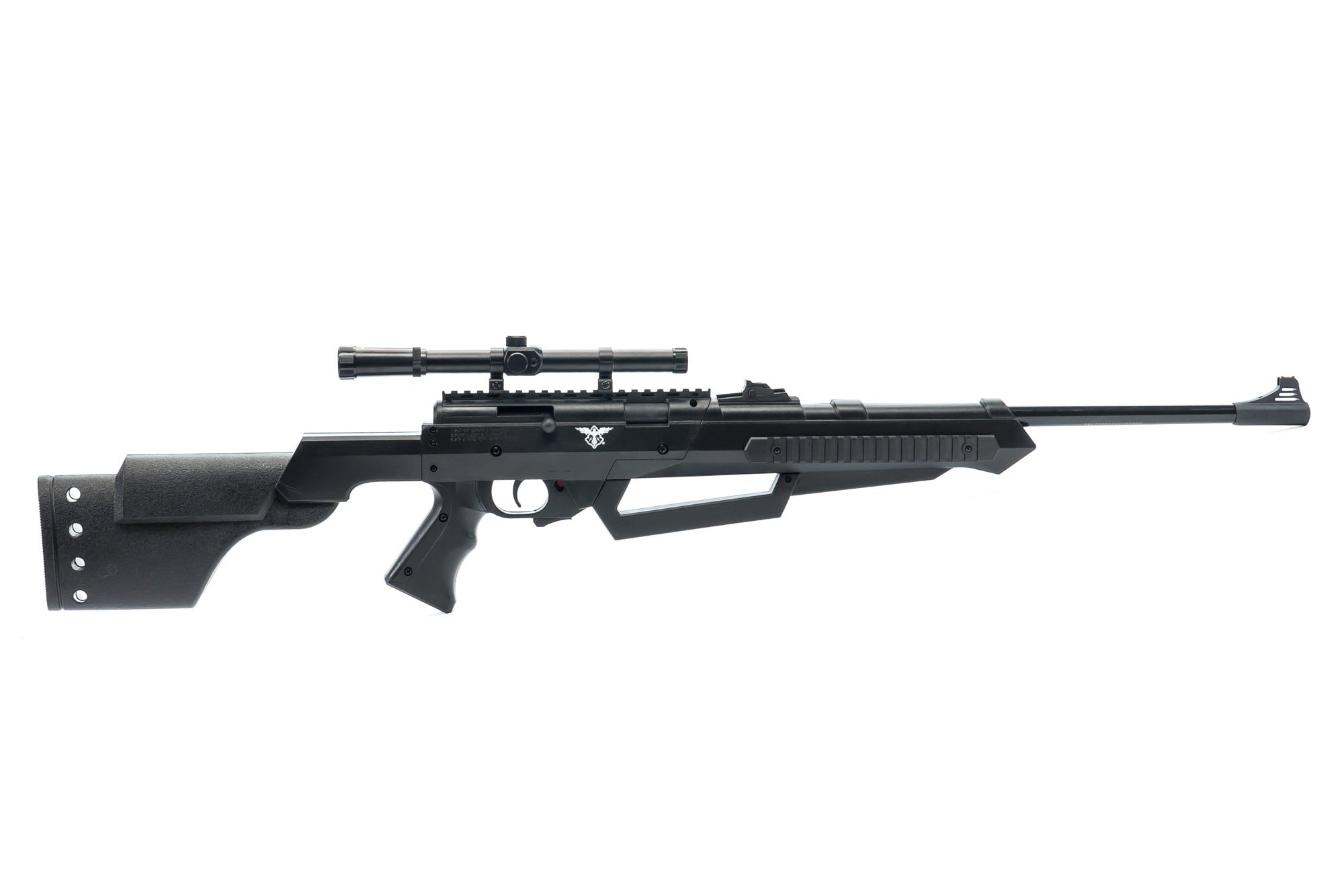 Black Ops S950 Air Rifle - Multi-Pump  177 Airgun - BB/Pellet Gun with  Scope Included