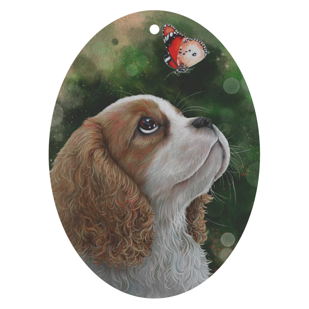 Car Air Freshener - 3 pack , Blenheim Cavalier King Charles Spaniel Puppy - GoneBold.gift