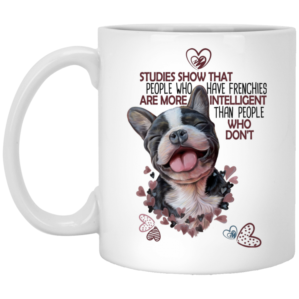 French Bulldog lovers Gift, Frenchie coffee mug - GoneBold.gift