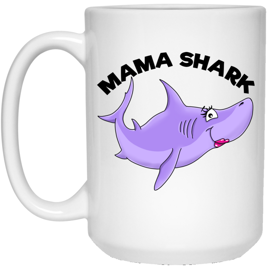 Mama Shark Mug - Shark Family - Gifts for Mom - GoneBold.gift