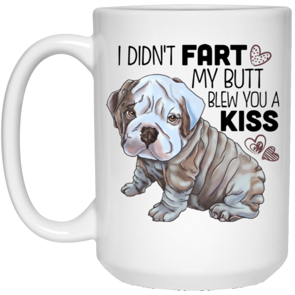 Fart Mug Funny English Bulldog gifts dog Mugs - GoneBold.gift