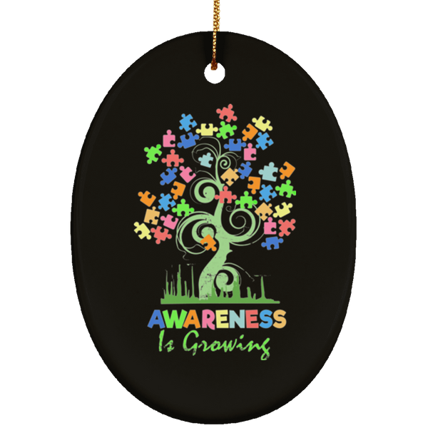 Autism Awareness Tree Christmas Decorations Ornament