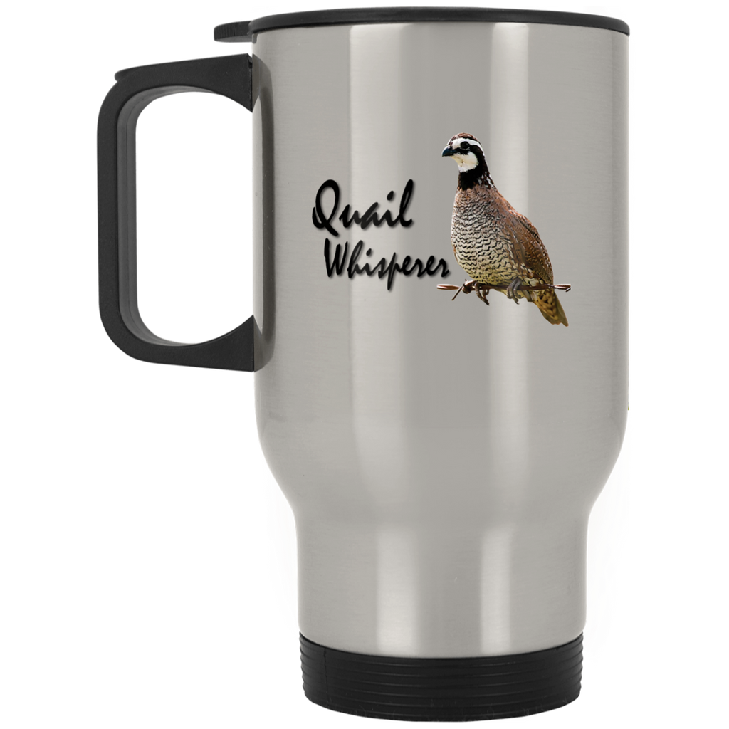 Quail Whisperer Stainless Travel Mug - GoneBold.gift