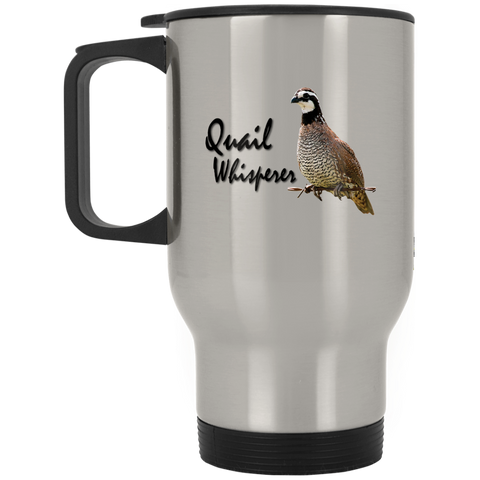 Quail Whisperer Stainless Travel Mug
