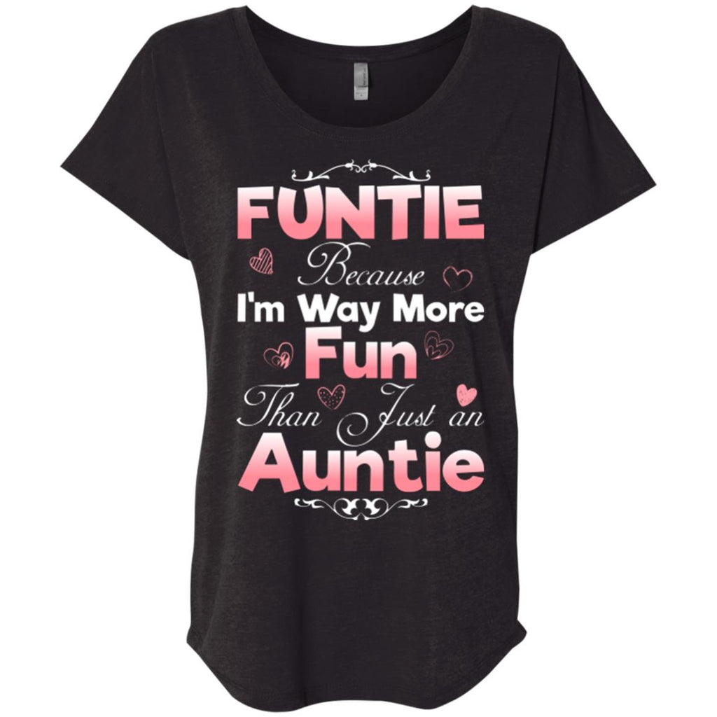 Funny Gift for Aunt Funtie shirt Women tees n tanks - GoneBold.gift