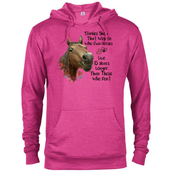 Horse Hoodie For Women, Funny Horse Gift, Studies Show