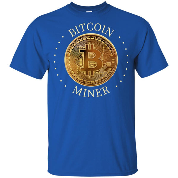 Bitcoin Miner Youth Ultra Cotton Bitcoin T-Shirt - GoneBold.gift