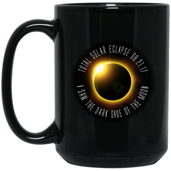 Solar Eclipse Coffee Mug - Dark Side Of The Moon