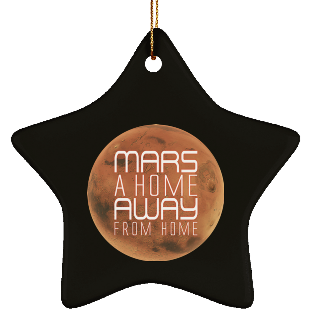 Christmas Tree Decorations - Mars Ornament - GoneBold.gift