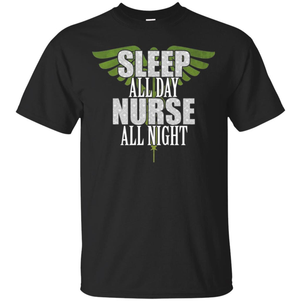 Nurse shirt - Night Shift Nurse Funny Unisex Tees - GoneBold.gift
