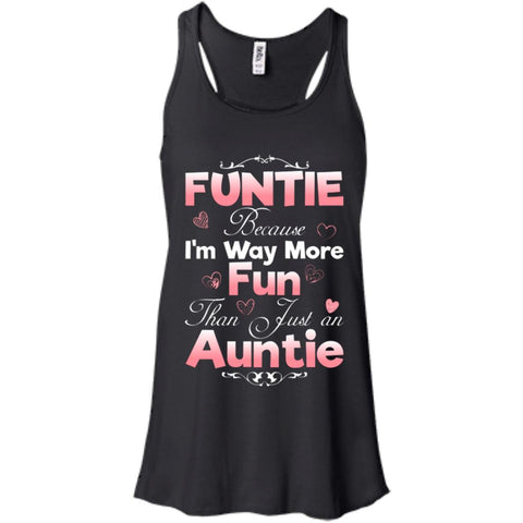 Aunt shirt Funtie Gift for Auntie Women tees n tanks - GoneBold.gift