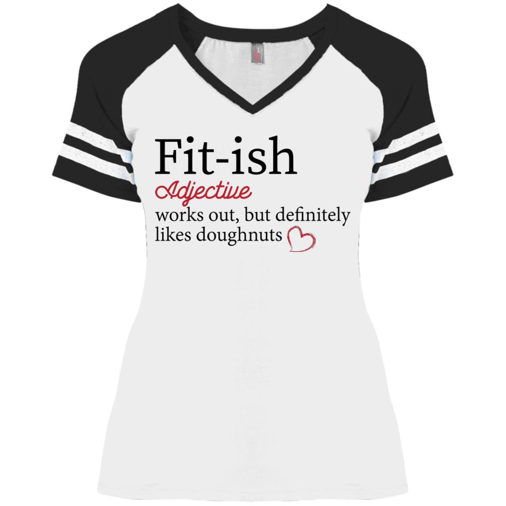 Funny Game V-Neck T-Shirt - Fittish - GoneBold.gift