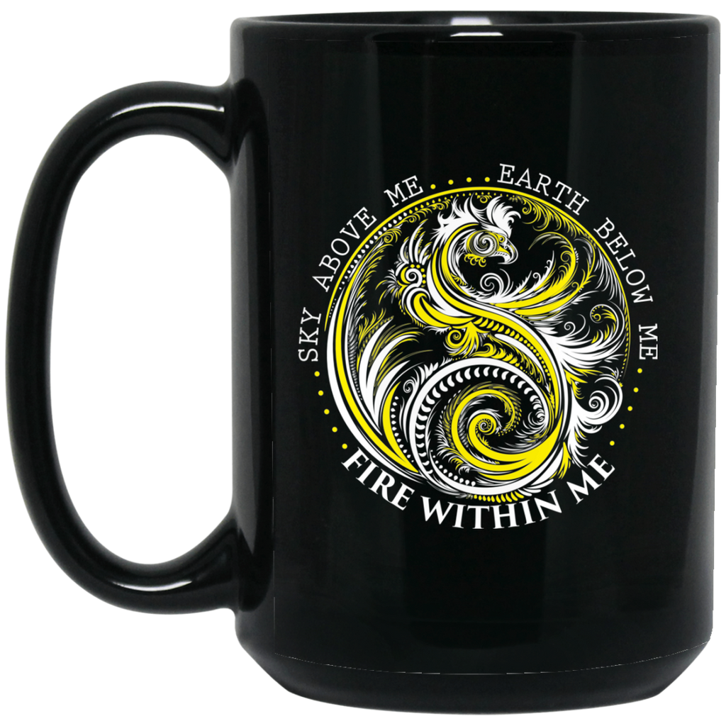 Yin Yang Dragon Coffee Mug - GoneBold.gift