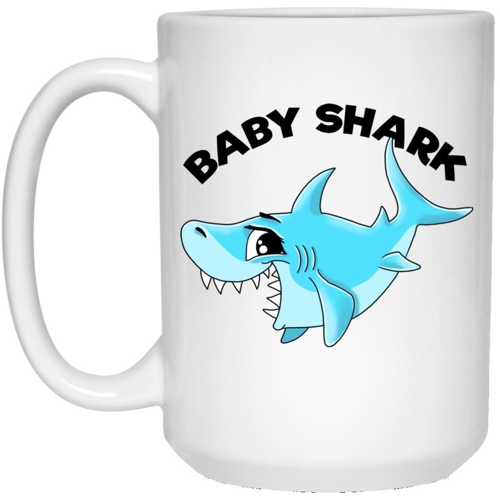 Baby Shark Mug - Shark Family, Gifts for Boys, Girls - GoneBold.gift