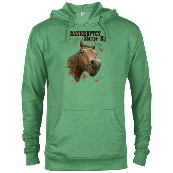 Horse Hoodie, Horse Gift - Bunkruptcy Starter Kit, Funny shirt