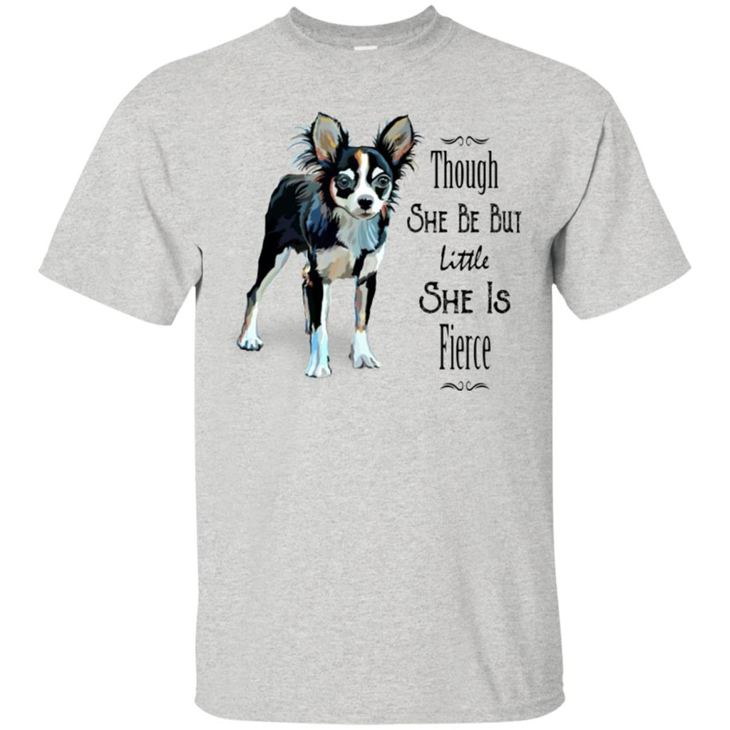 Chihuahua Shirt Fierce Dog Unisex Tees - GoneBold.gift