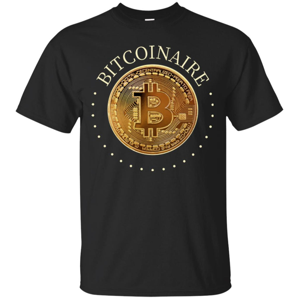 Bicoiner Adult Unisex  Bitcoin T-Shirt - GoneBold.gift