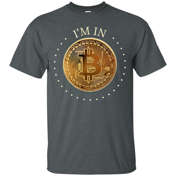 Bitcoin Shirt for Men - I'm In