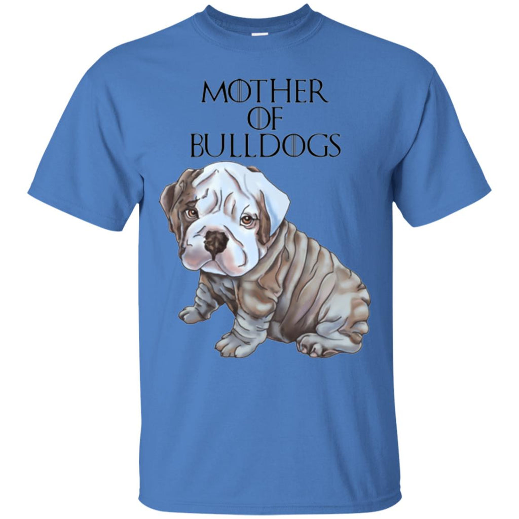 English Bulldog Shirt For Women, Girls - Mother of Bulldogs - GoneBold.gift