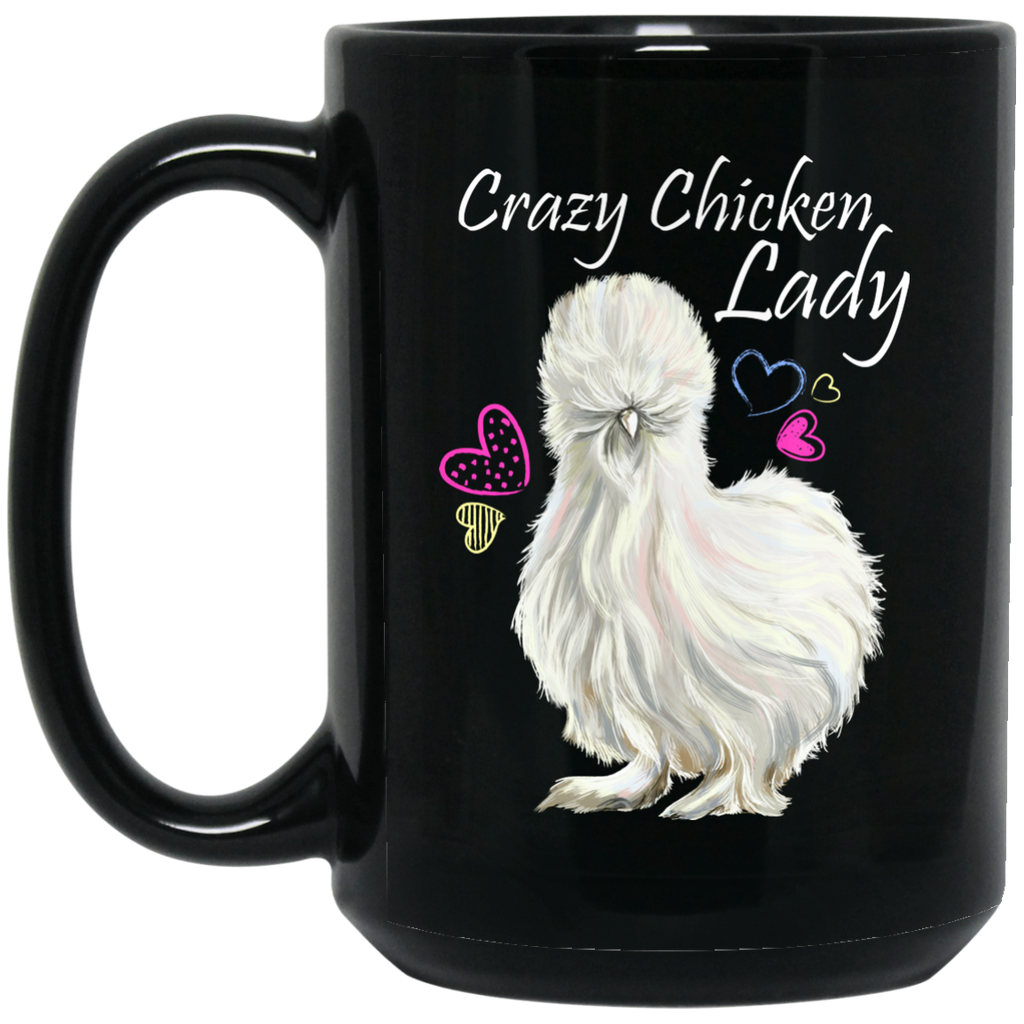 Crazy Chicken Lady Gifts, Chicken Lady Coffee Mug - GoneBold.gift