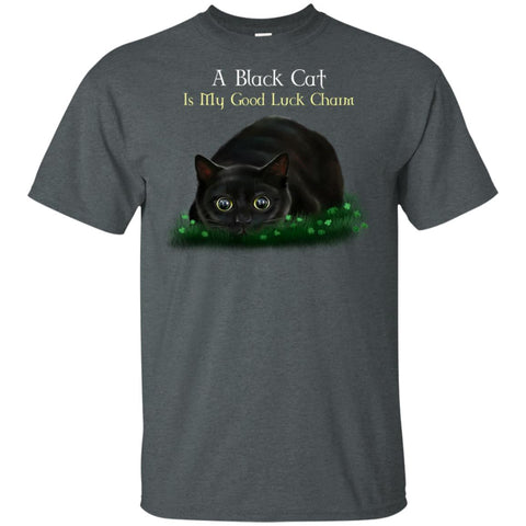 Cat T-Shirt, A Black Cat Is My Good Luck Charm, Funny shirt, Cat gifts - GoneBold.gift