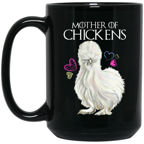 Chicken Lady Gifts, Mother Of Chickens Coffee Mug - GoneBold.gift