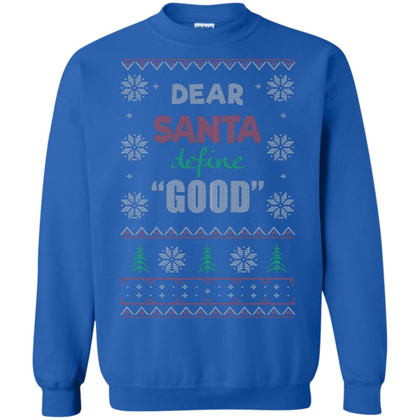 Christmas Ugly Sweater Dear Santa funny Gifts Hoodies sweaters - GoneBold.gift